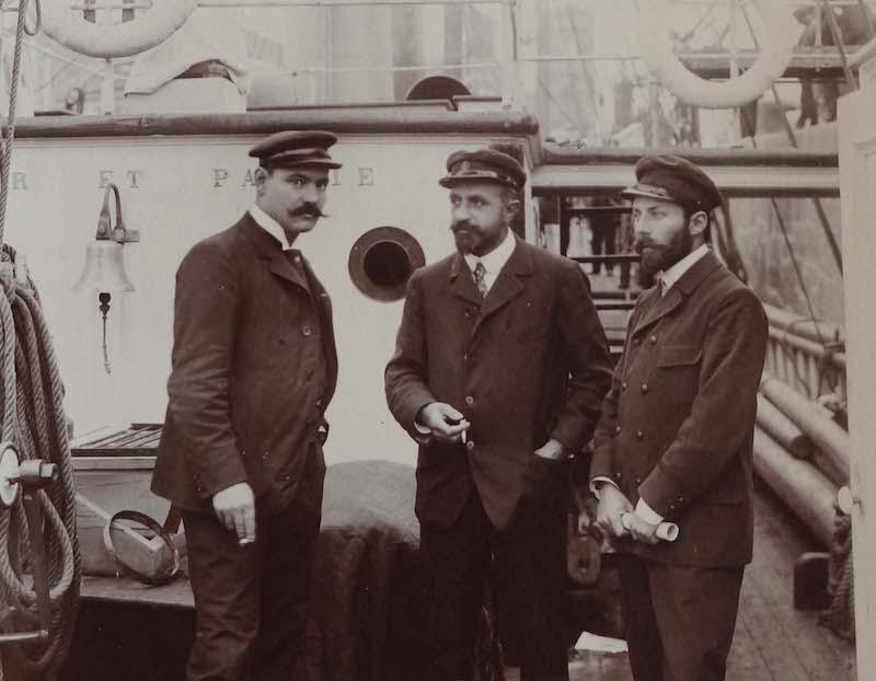 Pourquoi Pas? 1909 (1/75° Billing Boats) - Page 16 411_cu10