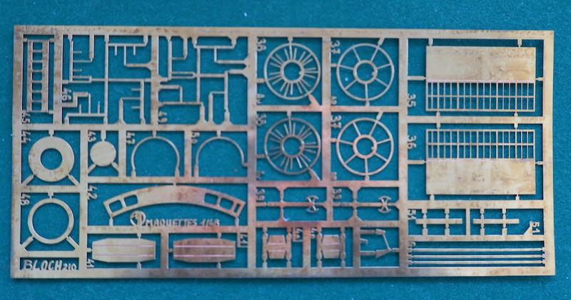 Bloch 210 - Bloch 210 (AJP Maquettes 1/48° PE & résine) 6_b21010