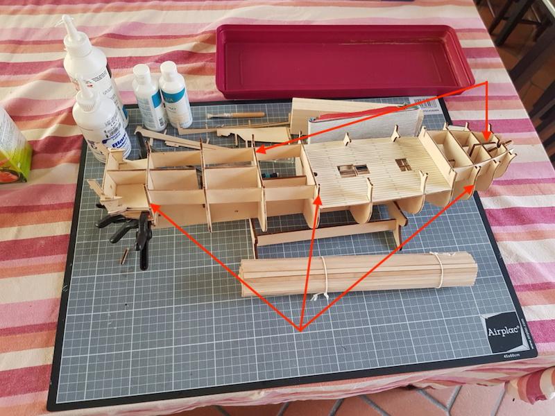 construction de l'hermione de chez Artesania  - Page 2 Al_her10