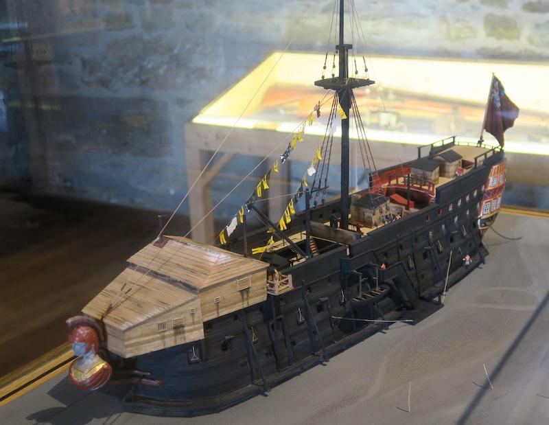 Musée d'histoire de Saint Malo Bateau11