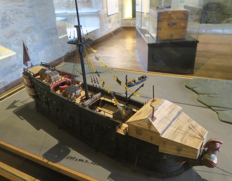 Musée d'histoire de Saint Malo Bateau12