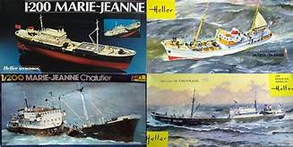 Chalutier Le Volontaire - 1/200° - Heller 80604 - Notice Chalut12