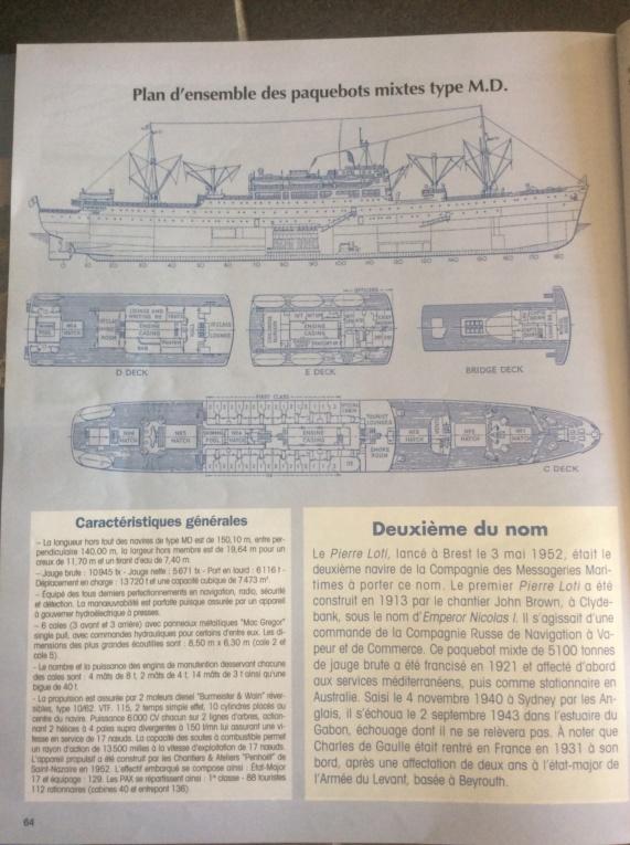 Rcherche plans Paquebot Mixte Ferdinand de LESSEPS Image11
