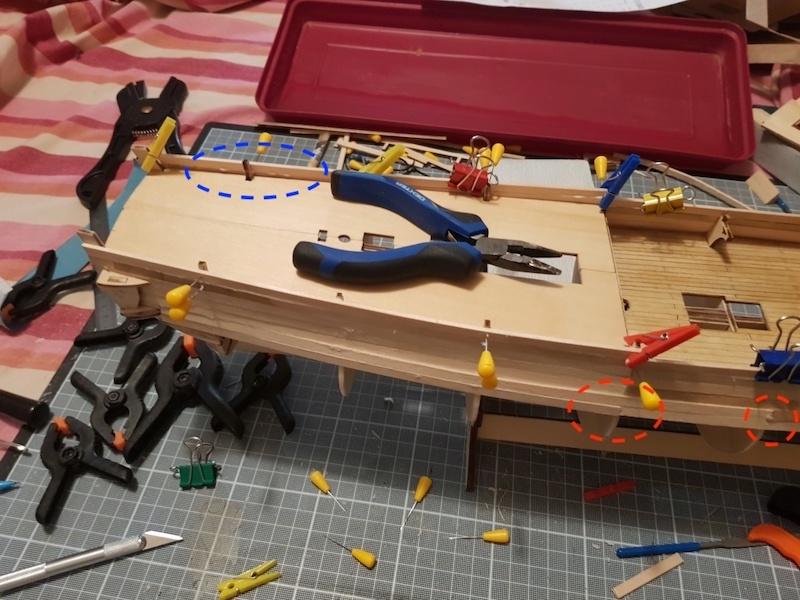 construction de l'hermione de chez Artesania - Page 4 Louis_13
