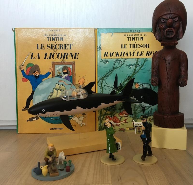 la licorne hachette 1/76 Tintin10