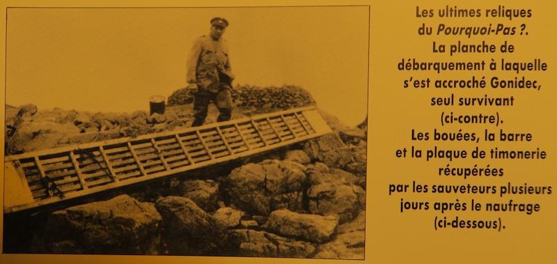 Épave du Pourquoi Pas? V du Cdt Charcot coulé en 1936 au large de Reykjavik X18_pq10