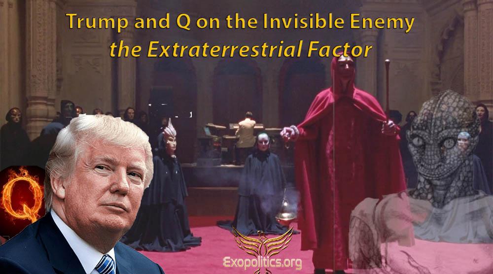 Майкл Салла - Трамп и Q о невидимом враге - внеземном факторе  1 июля 2020 года Trump-10