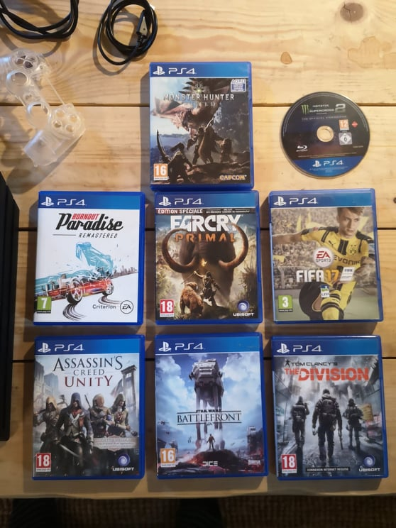 [Vds] Lot PS4 Pro, Lot jeu Xbox360, One, PS1, PS3, DS, Pokemon Platine, Metroid Fusion 21809410