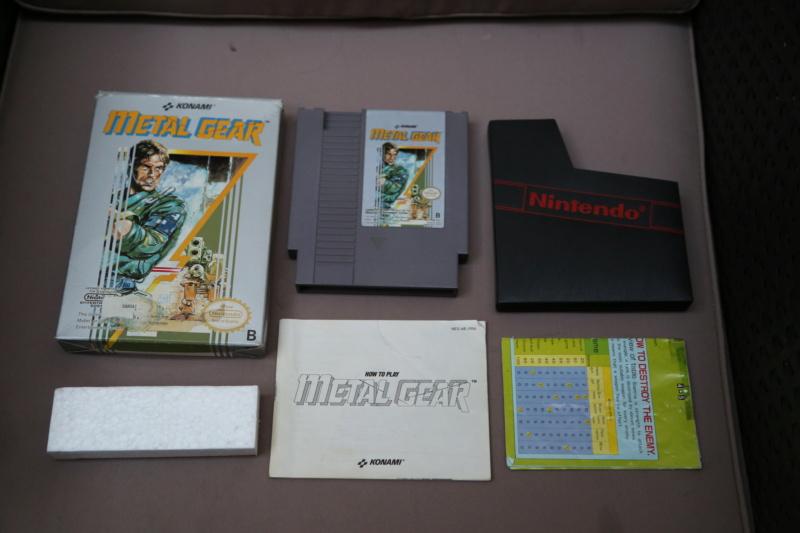 [Vds] Metal Gear NES complet, jeux DS et 3DS, Switch, Virtual boy 3h8a3112