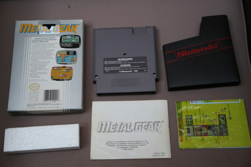 [Vds] Metal Gear NES complet, jeux DS et 3DS, Switch, Virtual boy 3h8a3113