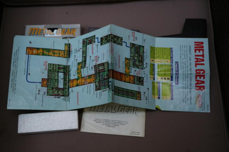 [Vds] Metal Gear NES complet, jeux DS et 3DS, Switch, Virtual boy 3h8a3115