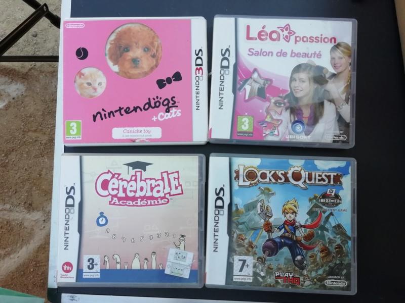 [Vds] Metal Gear NES complet, jeux DS et 3DS, Switch, Virtual boy Img_2091