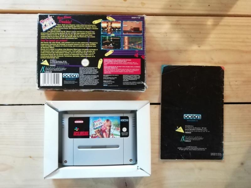 [Vds] SNES, Jeux SNES en boites, GBA SP en boite, Jeux GB, et lot GC! Img_2139