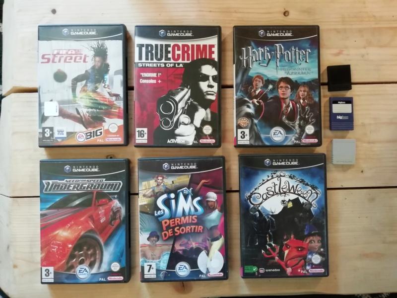 [Vds] SNES, Jeux SNES en boites, GBA SP en boite, Jeux GB, et lot GC! Img_2157