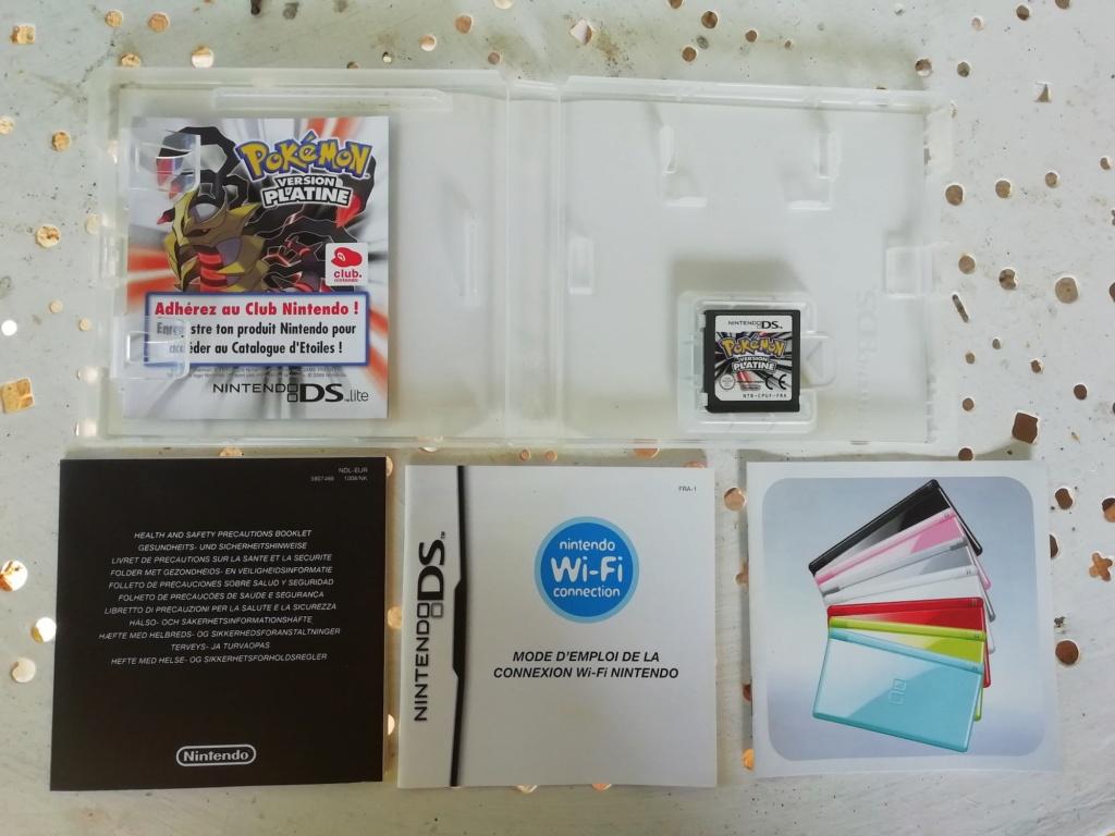 [Vds] Lot PS4 Pro, Lot jeu Xbox360, One, PS1, PS3, DS, Pokemon Platine, Metroid Fusion Img_2176
