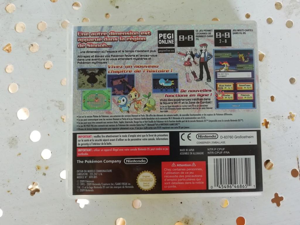 [Vds] Lot PS4 Pro, Lot jeu Xbox360, One, PS1, PS3, DS, Pokemon Platine, Metroid Fusion Img_2178