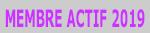 Membre actif 2019