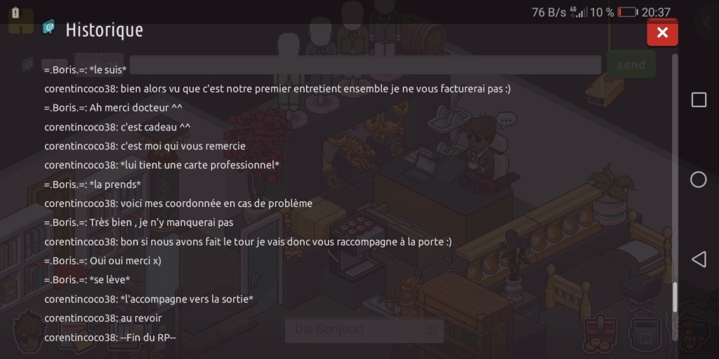 [CHU] Rapport d'action de RP de Corentincoco38  Scree395