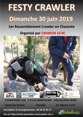 1er rassemblement crawler à Angoulême en Charente(16) Affich12