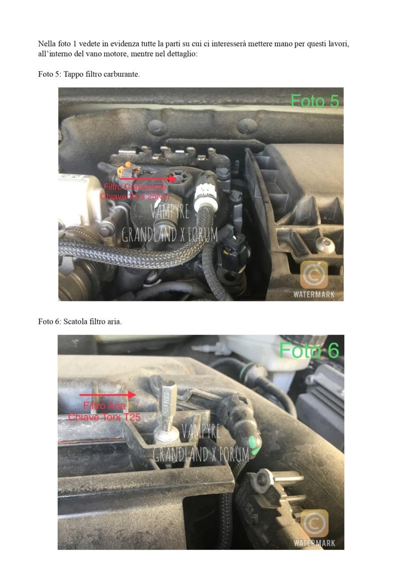 Tutorial Cambio Filtro Carburante e Aria Filtro13