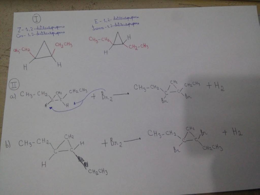 Sobre a molécula de 1,2-dietilciclopropano 20190816