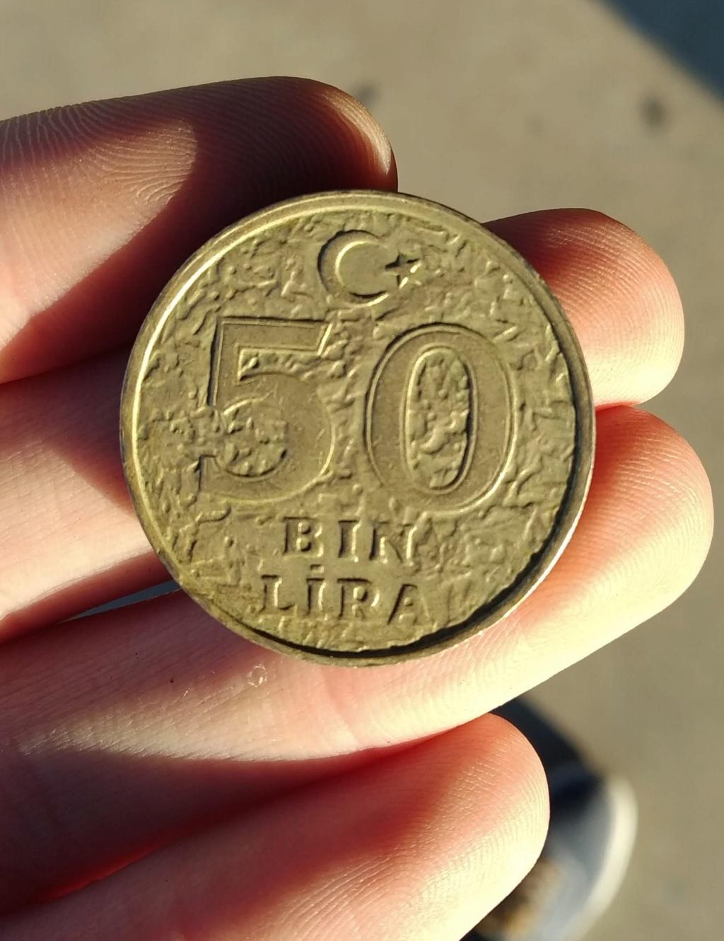 50.000 Liras 1996. Turquía. Opinión sobre valor. Img_2012