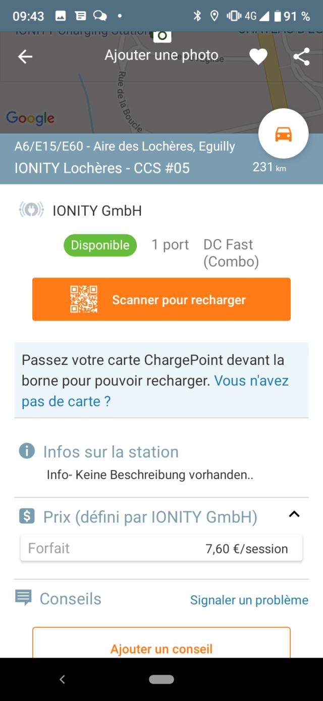 Borne IONITY à moitié prix ? Maingau - Page 2 Screen23
