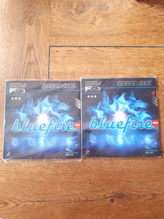 DONIC BLUEFIRE M3 1.8mm NEUF SOUS BLISTER  20200820