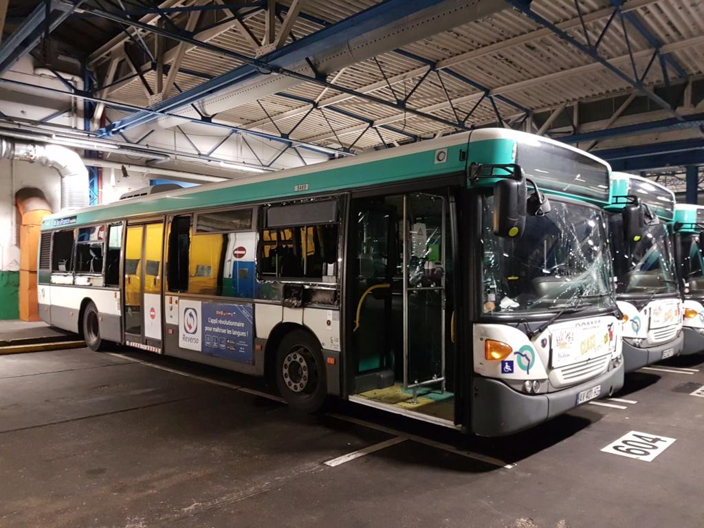 "Scania omnicity du 57 en mode ""dégradation"" 20200212"