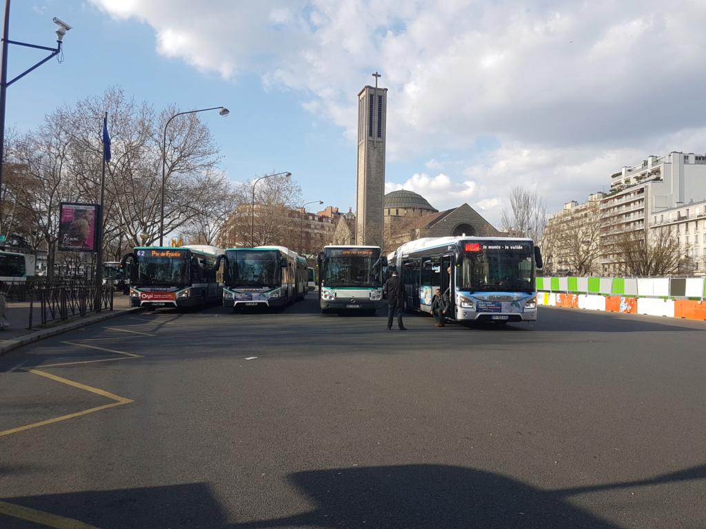 Du bus 62 au départ de st cloud 20200310