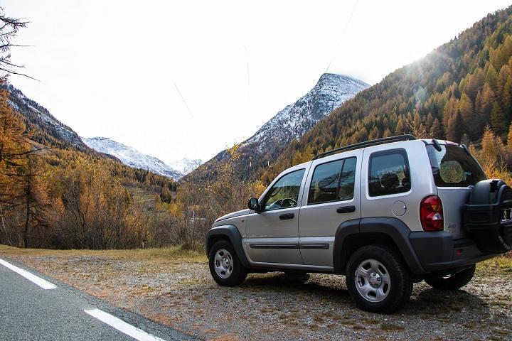 Autunno sui monti Jeep_k10