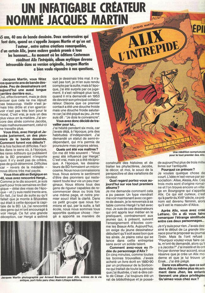 50 ans avec Jacques Martin - Page 7 1986-a12