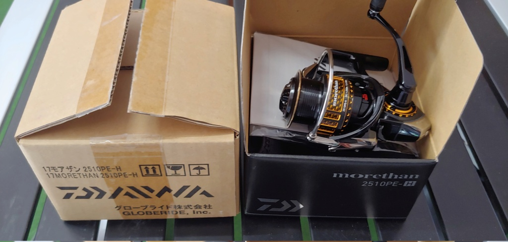 [Vendo] nuovo daiwa morethan 2510 pe-h 20200712