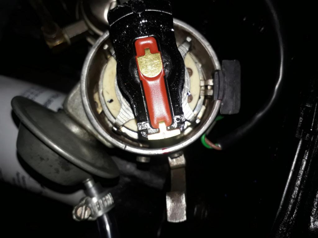Ponto do distribuidor Opala 4 cilindros  20200611