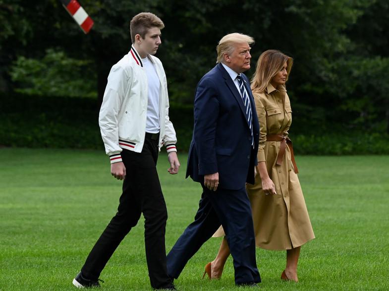 ¿Cuánto mide Barron Trump? - Altura - Real height - Página 4 22791110