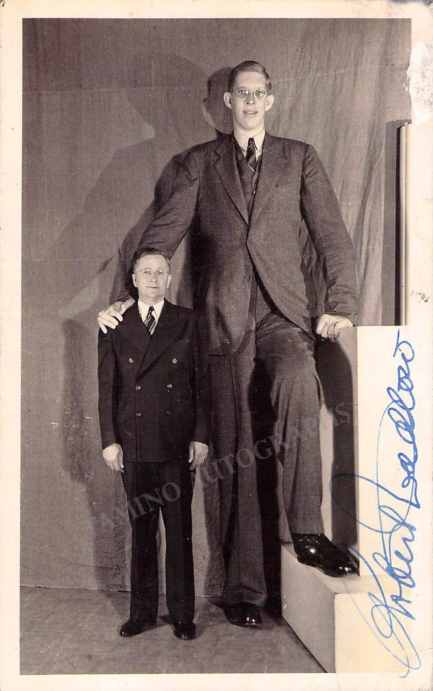 ¿Cuánto mide Robert Wadlow? - Altura - Real height - Página 2 Robert10