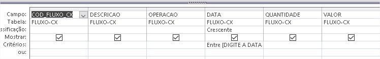 [Resolvido]Como gerar relatorio de um fluxo de caixa Consul10