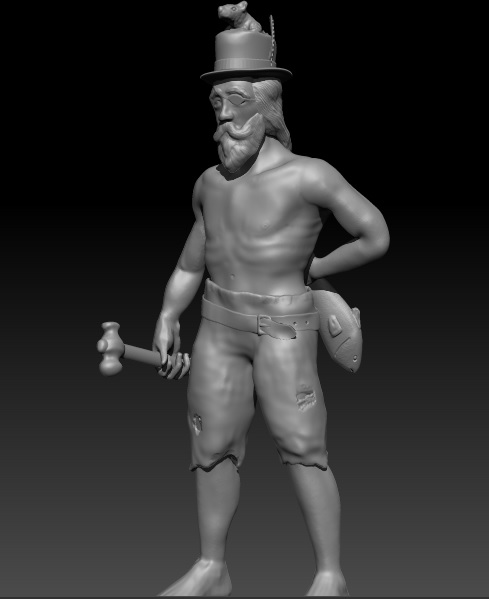 Survivers warband and others models waiting to be printed Aldean12