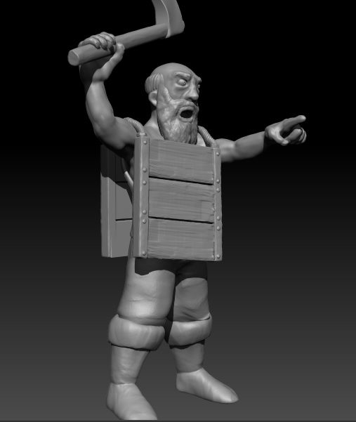Survivers warband and others models waiting to be printed Aldean13