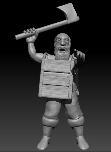 Survivers warband and others models waiting to be printed Aldean15