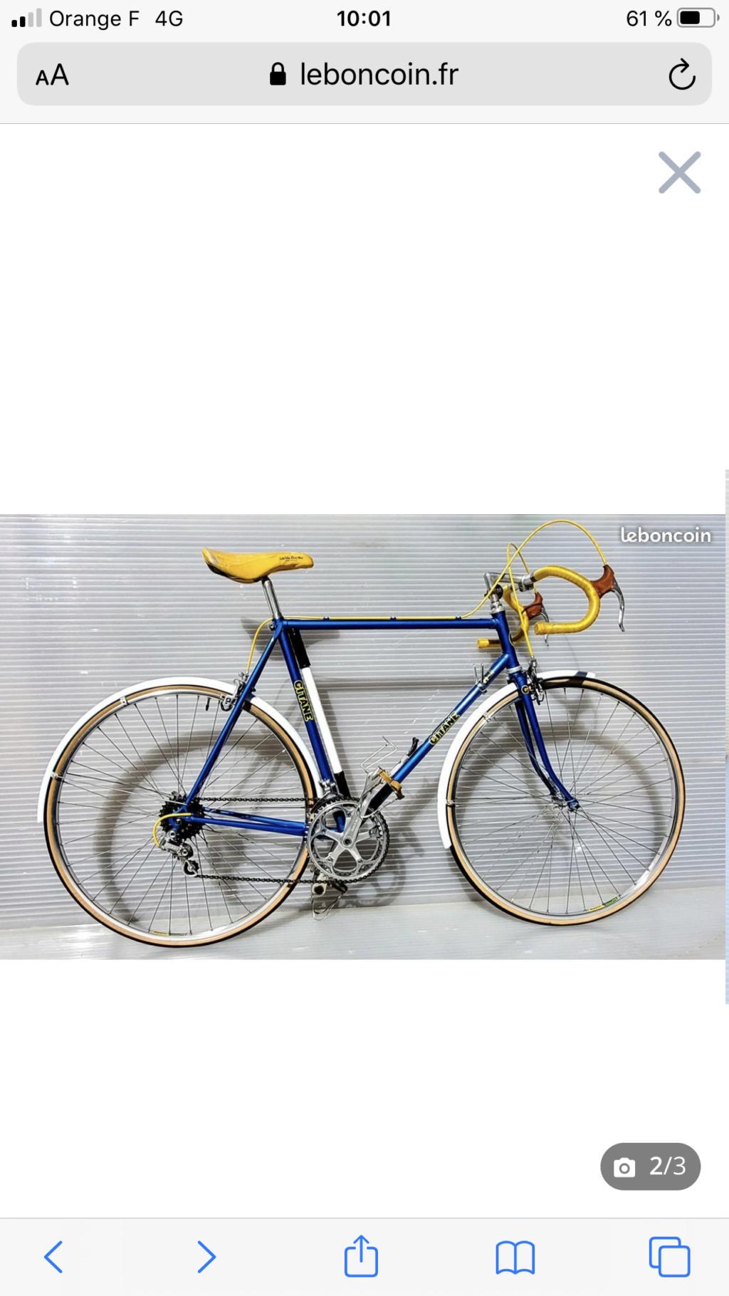 Identification Vélo Gitane ??? De4b7010