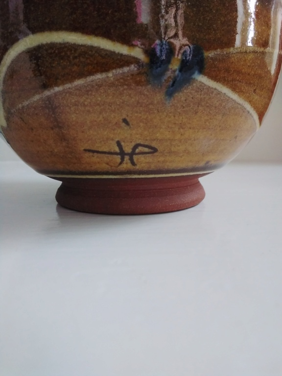Slipware bowl with JHP or JP or HP mark  20210318