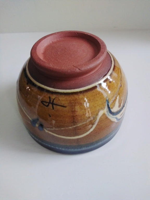 Slipware bowl with JHP or JP or HP mark  20210319