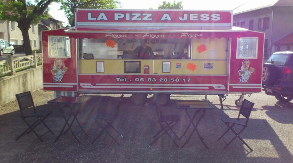 le retour à la pizza juste pour le plaisir Remorq10