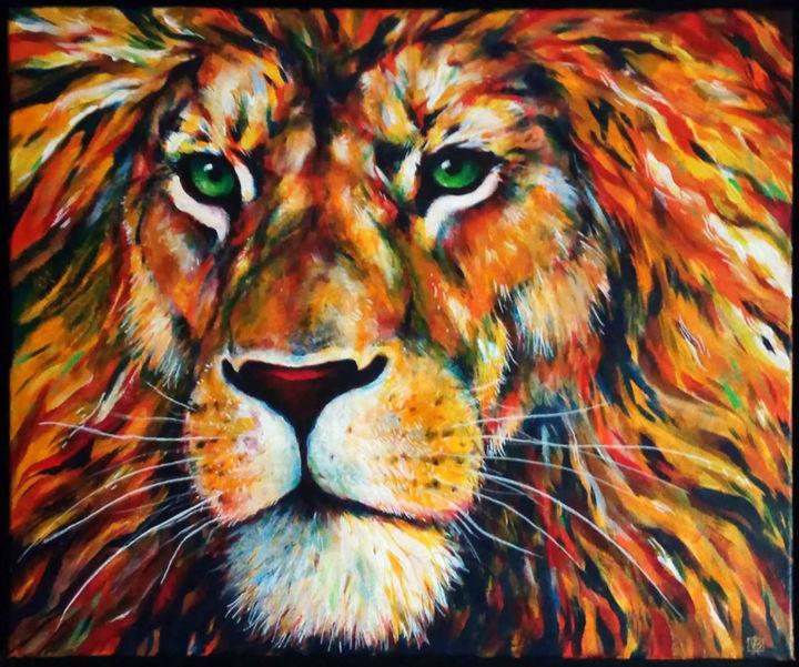 j'ai perdu goût à la peinture Lion10