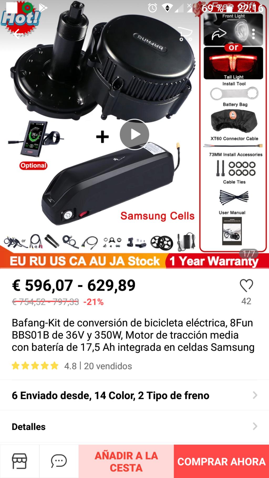 Problema bateria de kit bafang aliexpres Screen12