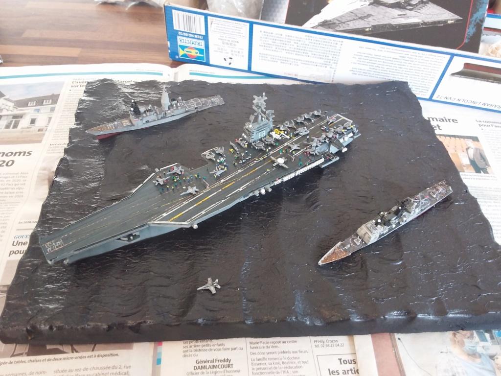 USS Nimitz 1/1200 Revell 20210112