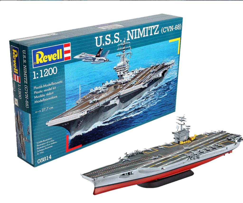 USS Nimitz 1/1200 Revell 20210113
