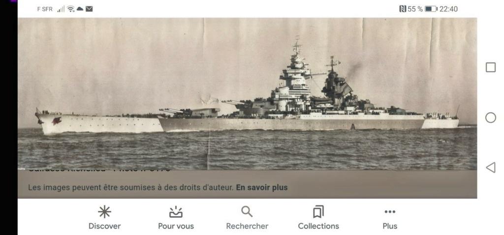 Cuirassé Richelieu 1/700 Colori10