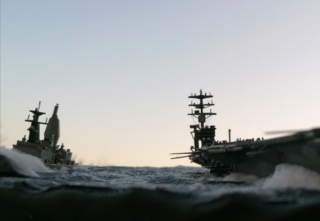 USS Nimitz 1/1200 Revell Img_2038